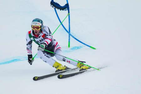 fis: Alta Badia, ITALIA 22 dicembre 2013 KRIECHMAYR Vincent AUT competere nella Audi FIS di sci alpino Coppa del Mondo UOMINI