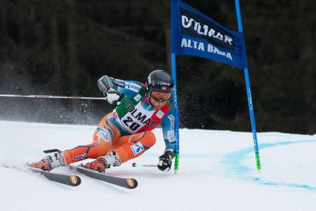 fis: Alta Badia, ITALIA 22 HAUGEN Leif Kristian NOR competere nella Audi FIS Sci alpino Coppa del Mondo UOMINI Editoriali