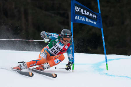 leif: Alta Badia, ITALY 22 HAUGEN Leif Kristian  NOR  competing in the Audi FIS Alpine Skiing World Cup MEN