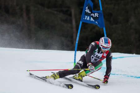fis: Alta Badia, ITALIA 22 Moelgg Manfred ITA competere nella Audi FIS di sci alpino Coppa del Mondo UOMINI Editoriali