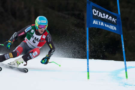 slalom: Alta Badia, ITALY 22 LIGETY Ted  USA  competing in the Audi FIS Alpine Skiing World Cup MEN