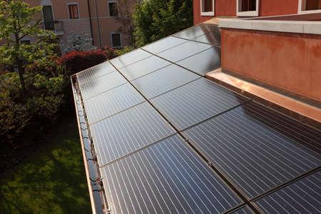 sonnenenergie: Solarenergie auf dem Deckel;