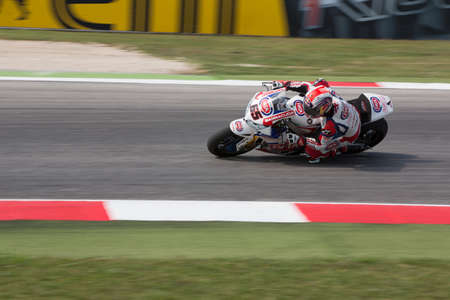 rea: MISANO ADRIATICO, ITALY - JUNE 21: Honda CBR1000RR of PATA Honda World Superbike team, driven by REA Jonathan in action during the Superbike Free Practice 3th Session during the FIM Superbike World Championship - Race at Misano World Circuit on June 21, 2