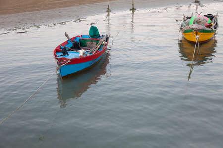 adriatico: Boat on the beach of Caorle (Venice)