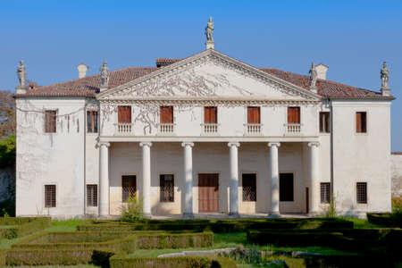 known: The Villa Valmarana (also known as Valmarana Scagnolari Zen) is a Renaissance villa situated in Lisiera, a locality of Bolzano Vicentino, Province of Vicenza, northern Italy. Designed by Andrea Palladio, it was originally built in the 1560s