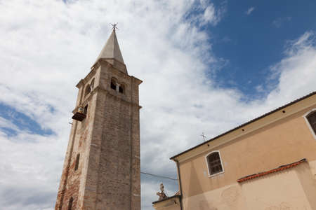 angelo: Church Of Madonna dell Angelo in Caorle - Venice - Italy Stock Photo