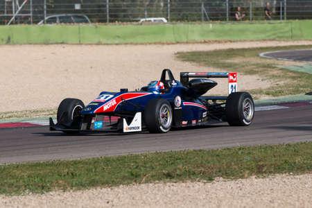 felix: Imola, Italy - October 11, 2014: Dallara F312 Mercedes of Team West-Tec, driven by Felix Serralles (Pri) in action During The FIA ??Formula 3 European Championship
