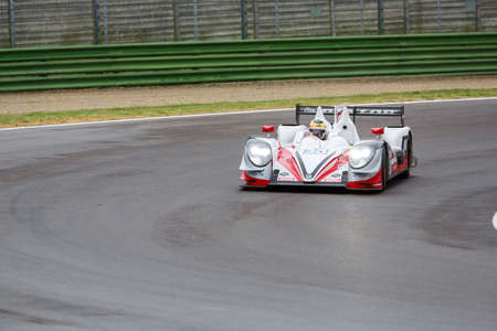 gibson: Imola, Italy – May 16, 2015: Gibson 015S – Nissan of JOTA Sport Team, driven by Simon Dolan in action during the European Le Mans Series - 4 Hours of Imola in Autodromo Enzo & Dino Ferrari on May 16, 2015 in Imola, Italy.