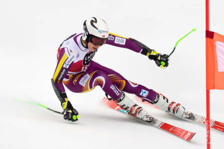 Val Badia, Italy 21 December 2014. KRISTOFFERSEN Henrik (Nor) competing in the Audi Fis Alpine Skiing World Cup Men's Giant Slalom on the Gran Risa Course in the dolomite mountain range. Editöryel