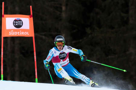 ted: Val Badia, Italy 21 December 2014. LIGETY Ted (Usa) competing in the Audi Fis Alpine Skiing World Cup Men's Giant Slalom on the Gran Risa Course in the dolomite mountain range.