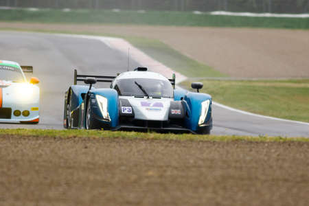rob: Imola, Italy – May 16, 2015: Ginetta – Nissan of University Of Bolton Team, driven by Rob Garofall and Morten Dons in action during the European Le Mans Series - 4 Hours of Imola in Autodromo Enzo & Dino Ferrari on May 16, 2015 in Imola, Italy.