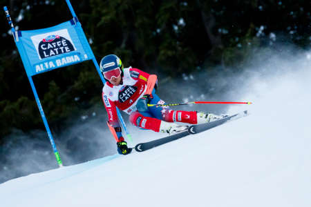 ted: Alta Badia, Italy 20 December 2015.  LIGETY Ted (Usa) competing in the Audi Fis Alpine Skiing World Cup Men's Giant Slalom on the Gran Risa Course in the dolomite mountain range.