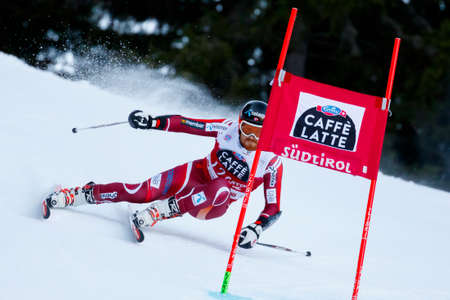 leif: Alta Badia, Italy 20 December 2015.  HAUGEN Leif Kristian (Nor) competing in the Audi Fis Alpine Skiing World Cup Men's Giant Slalom on the Gran Risa Course in the dolomite mountain range.
