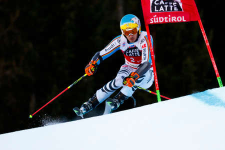 felix: Alta Badia, Italy 20 December 2015.  NEUREUTHER Felix (Ger) competing in the Audi Fis Alpine Skiing World Cup Men's Giant Slalom on the Gran Risa Course in the dolomite mountain range. Editorial