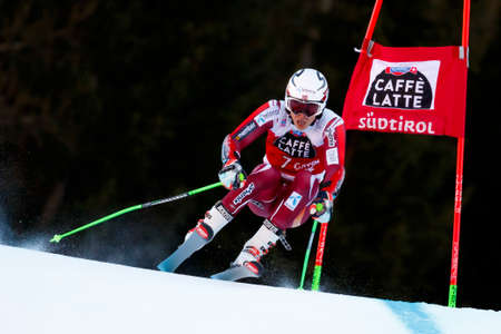 slalom: Alta Badia, Italy 20 December 2015.  KRISTOFFERSEN Henrik (Nor) competing in the Audi Fis Alpine Skiing World Cup Men's Giant Slalom on the Gran Risa Course in the dolomite mountain range.