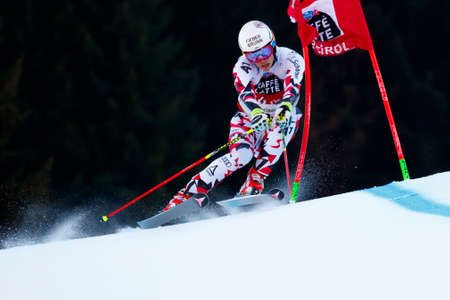 manuel: Alta Badia, Italy 20 December 2015.  FELLER Manuel (Aut) competing in the Audi Fis Alpine Skiing World Cup Men's Giant Slalom on the Gran Risa Course in the dolomite mountain range.