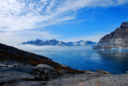 Water in Greenland Stock Photo