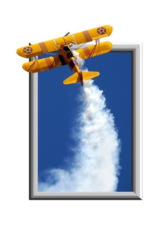 breakout: Aeroplane break-out composite art work