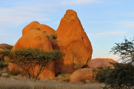 spitzkoppe: Rock formation at Spitzkoppe