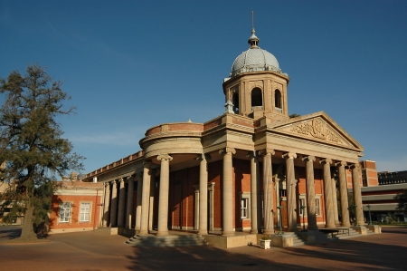 The historical Fourth Raadzaal in Bloemfontein, South Africa, Seat of Free State Provincial Government