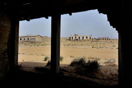 kolmanskop: Decaying architecture at Kolmanskop near Luderitz in Namibia