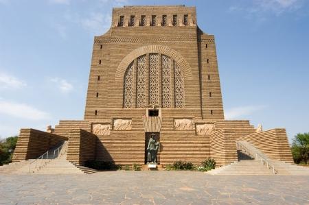 フォールトレッカー記念碑モニュメント ヒル プレトリア、南アフリカ共和国に