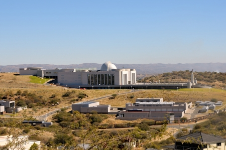 The new State House in Windhoek, Namibia
