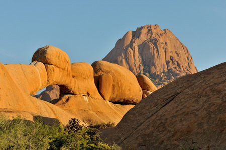 spitzkoppe: One of the natural arches at Spitzkoppe in Namibia