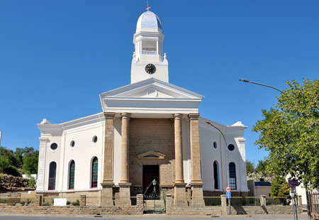 northern cape: Dutch Reformed Church in Colesberg, Northern Cape Province of South Africa