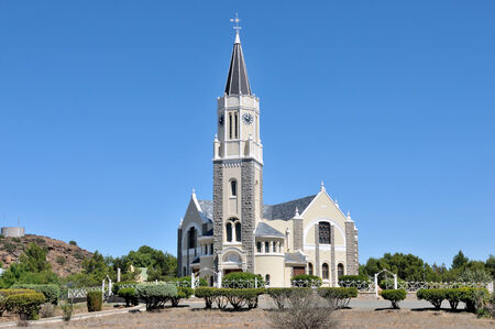Dutch Reformed Church in Hanover in the Northern Cape Province of South Africa Stok Fotoğraf - 35292439
