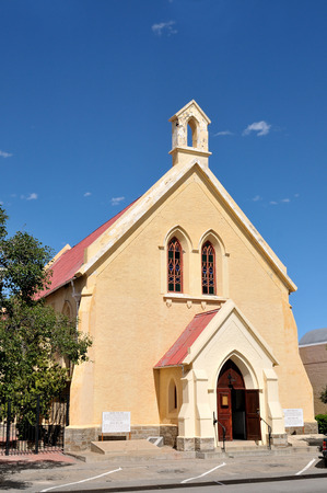 northern african: Big Trek museum in the historical Dutch Reformed Mission church in Beaufort West in the Northern Cape Province of South Africa