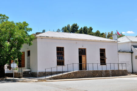 northern cape: Library in a historical building in Richmond in the Northern Cape Province of South Africa Stock Photo