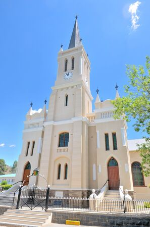 northern african: Dutch Reformed Church in Richmond in the Northern Cape Province of South Africa