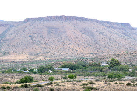 northern cape: Camp site landscape in the Karoo National Park, Northern Cape Province of South Africa