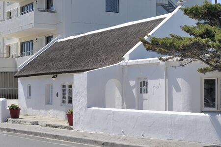 Historical building in Hermanus in the Western Cape Province of South Africa