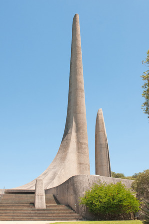 Monument in Paarl in the Western Cape Province of South Africa commemorating the development of the Afrikaans language