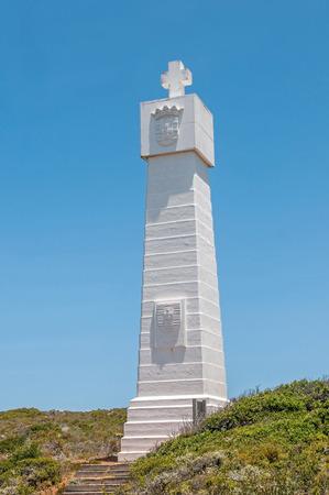Monument in the Cape Point section of Table Mountain National Park commemorating the voyage around the Cape by Vasco da Gama in 1497. Serves as beacon helping ships avoid Whittle Rock.