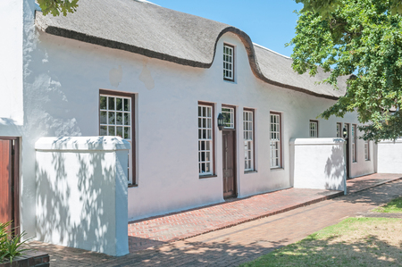 Historical building in Stellenbosch in the Western Cape Province of South Africa