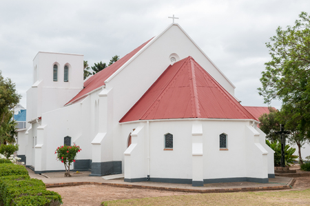 barnabas: The St Barnabas Anglican Church, Heidelberg, Western Cape Province of South Africa, was built in 1889 Stock Photo