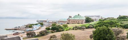 caravelle: Mosselbay, AFRIQUE DU SUD - 30 décembre 2014: Le Musée Dias abrite une taille de vie Dias caravelle réplique construite au Portugal qui a navigué à Mosselbay en 1988 pour commémorer le voyage Dias 500 ans avant