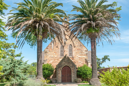 suid: GEORGE, SOUTH AFRICA - JANUARY 4, 2015: Cathedral of the St. Mark Anglican  Church in George