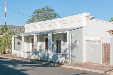 Historic house in Middelburg in the Eastern Cape Province of South Africa Stock Photo