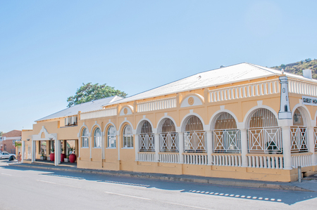 northern african: COLESBERG, SOUTH AFRICA - DECEMBER 1, 2014: Historic old building in Colesberg