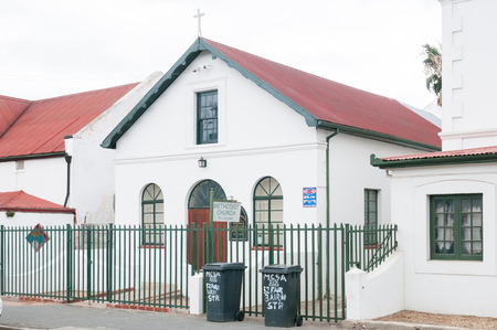 methodist: WORCESTER, SOUTH AFRICA - DECEMBER 2, 2014: Methodist Church in Worcester in the Western Cape Province of South Africa