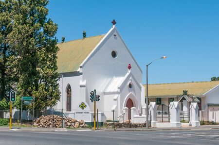 methodist: CAPE TOWN, SOUTH AFRICA - DECEMBER 10, 2014:  Methodist Church in Somerset West near Cape Town