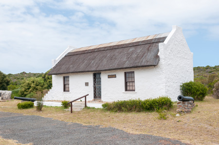table mountain national park: CAPE TOWN, SOUTH AFRICA - DECEMBER 12, 2014: Skaifes Barn near Cape Point. Sydney Harold Skaife was an entomologist who played leading role in the creation of this Nature Reserve