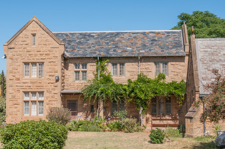 anglican: Rectory of the St. Judes Anglican Church in Oudtshoorn South Africa