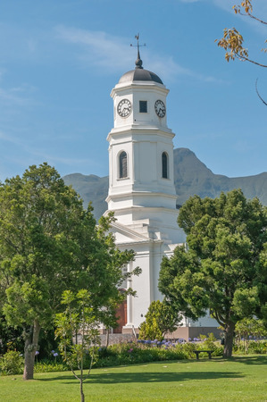 suid: Dutch Reformed Mother Church in George South Africa inaugurated 1842 Stock Photo