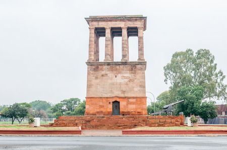 siege: The Honoured Dead Memorial in Kimberley commemorates those who died defending the city during the Siege of Kimberley in the Anglo-Boer War