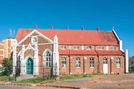 KIMBERLEY, SOUTH AFRICA - APRIL 5, 2015: Historic old church in Kimberley, the capital city of theNorthern Cape Province